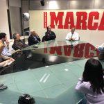 Gallardo repasó con ISMAS la cumbre mundial de la Prensa Deportiva de Marca